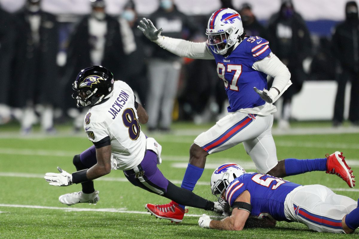 Divisional Round - Baltimore Ravens v Buffalo Bills