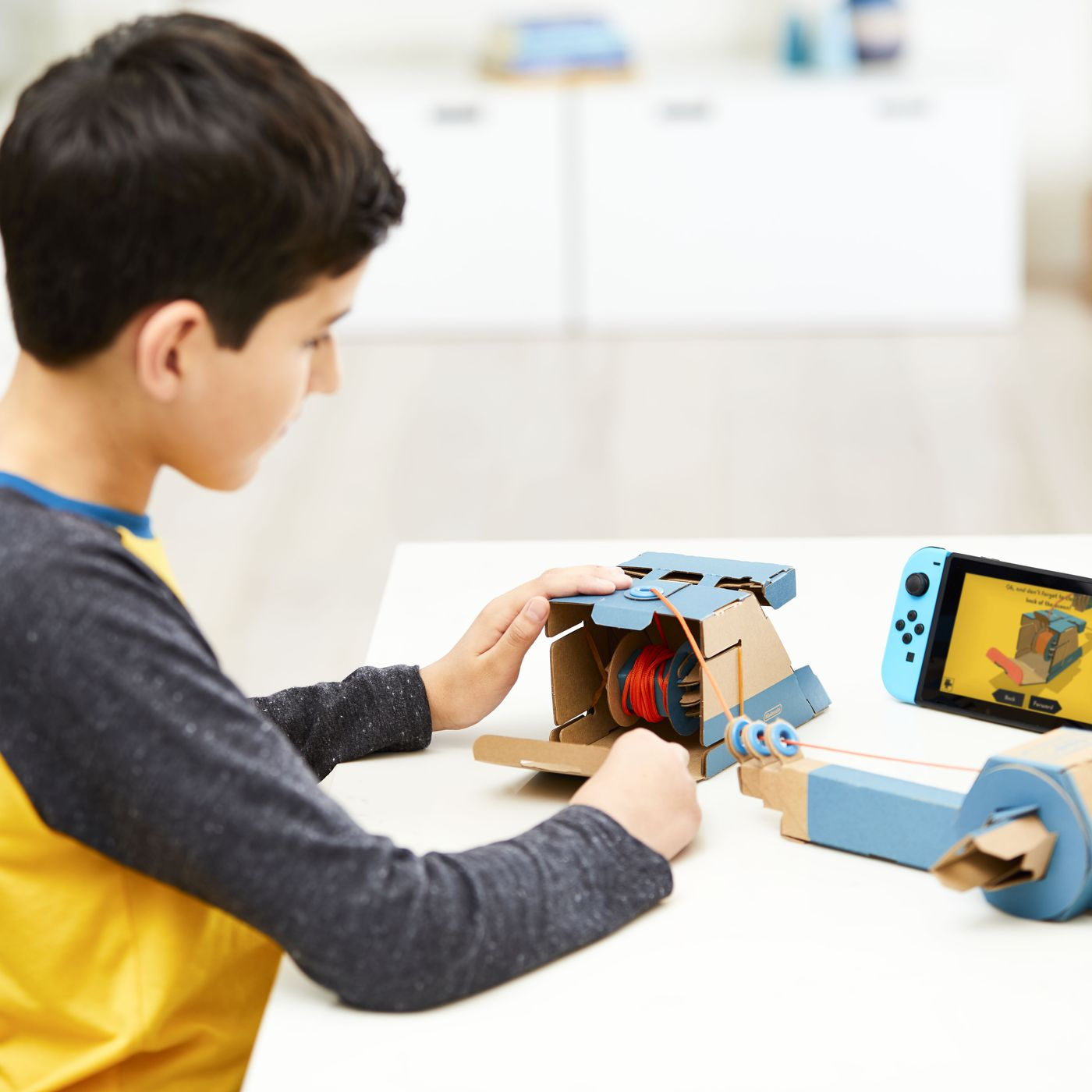 Nintendo is making a bunch of awesome diy cardboard toys for the nintendo is making a bunch of awesome diy cardboard toys for the switch the verge solutioingenieria Image collections