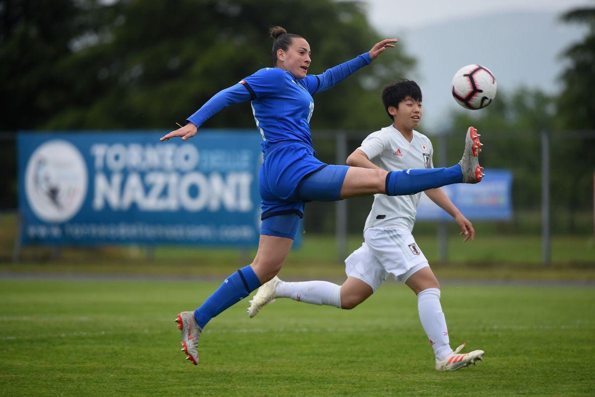 Italy Women U16 v Japan Women U16- Gradisca d'Isonzo Tournamnent
