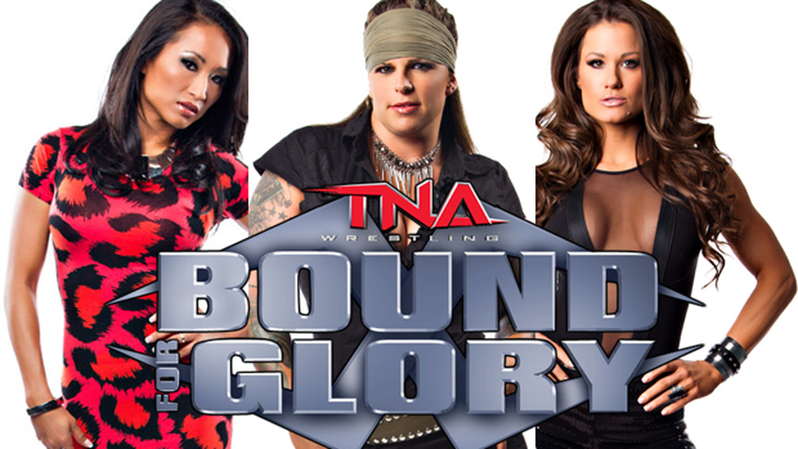 TNA 'Bound for Glory' Preview: ODB vs. Gail Kim vs. Brooke ... Brooke Tessmacher Aces And Eights