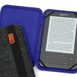 If someone favors the Kindle over an iPad, there are some standout cases for those too. <b>ReFleece</b>, a Somerville-based company we've highlighted before, works with Patagonia to recycle used fleece from jackets for a colorful interior and employs recy