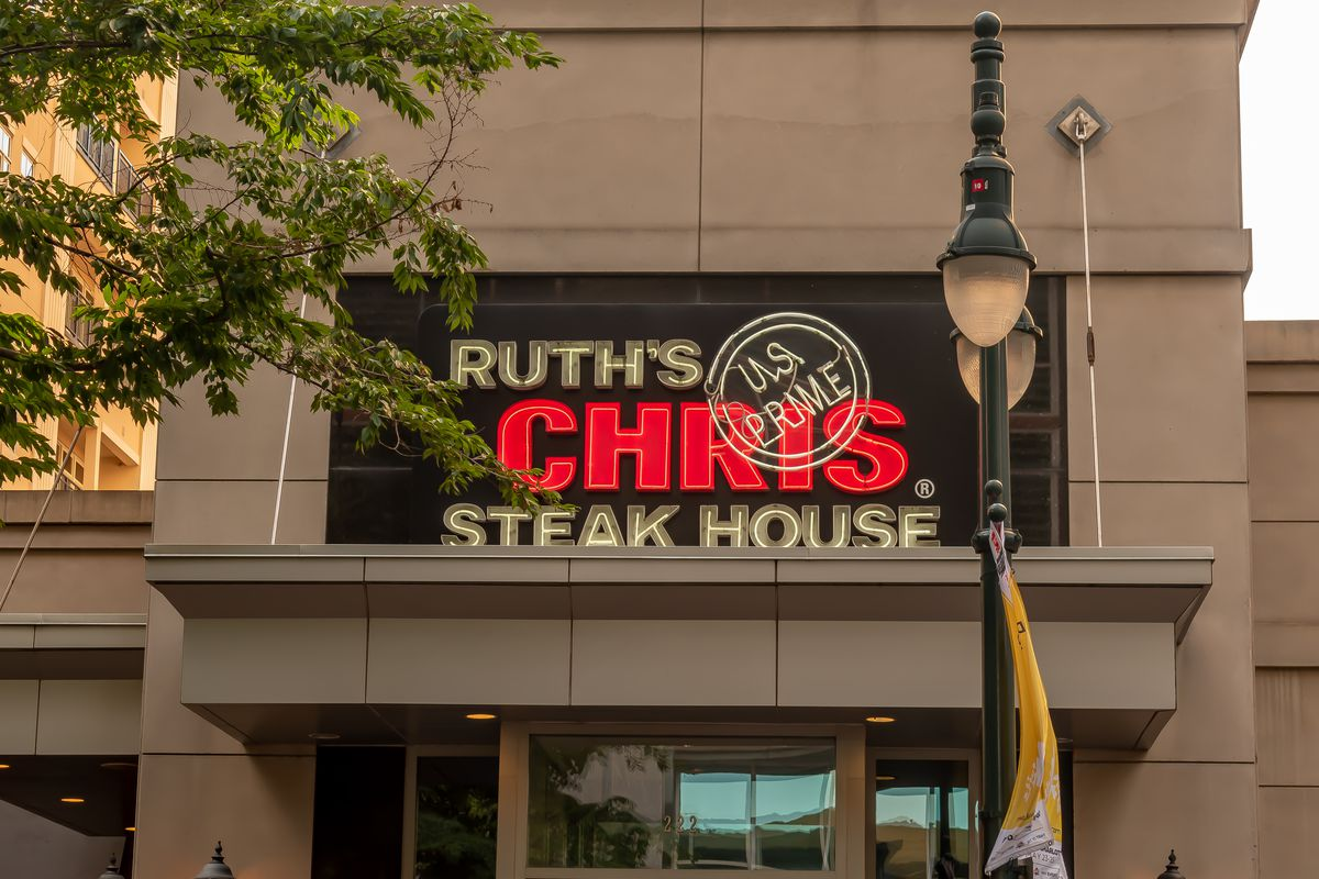 Ruth's Chris Steak House exterior.