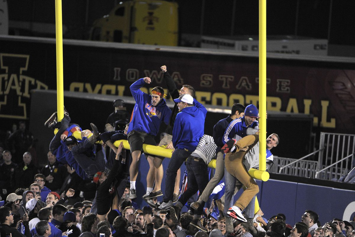 Well I guess ISU is so good, that you have to tear down the goal posts