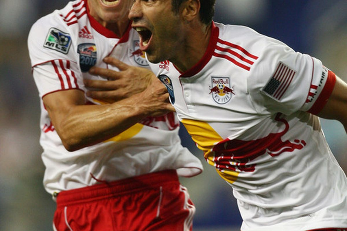 Last year was fun. (Photo by Mike Stobe/Getty Images for New York Red Bulls)