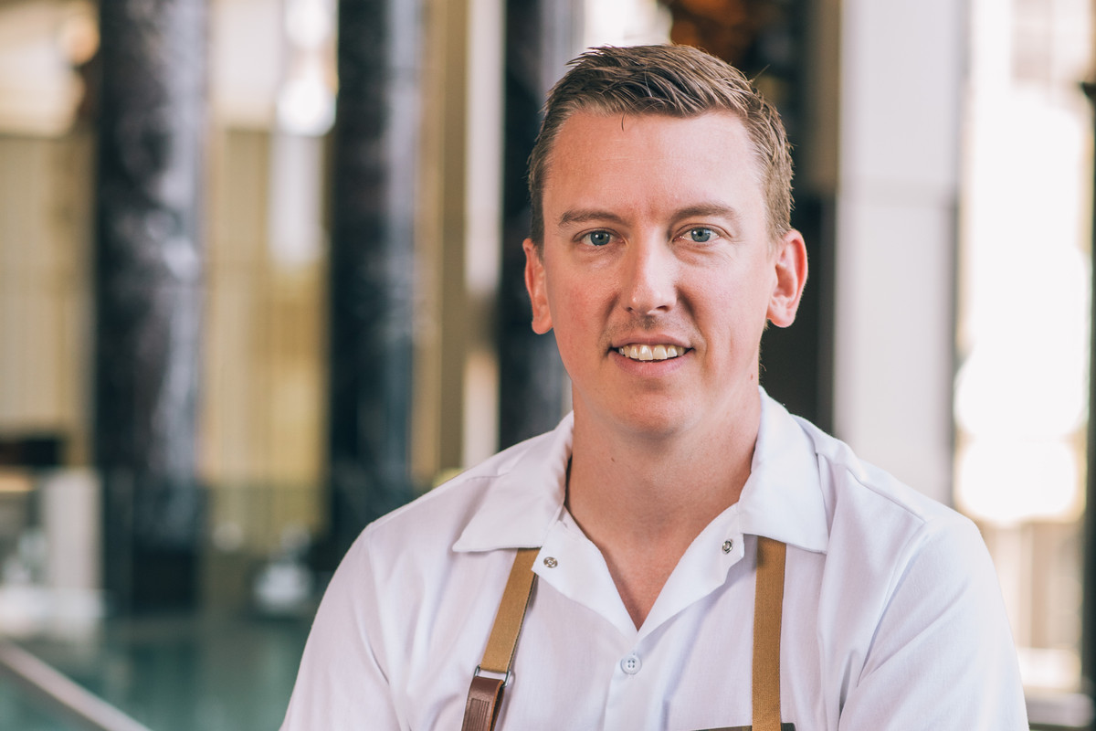 A portrait of chef Eric Lees