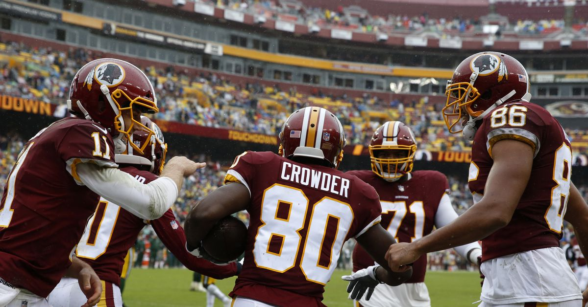 Jamison Crowder expected to miss several weeks with ankle injury, Redskins sign Jehu Chesson