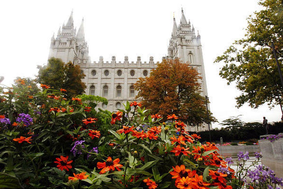 Temple Square in Salt Lake City.