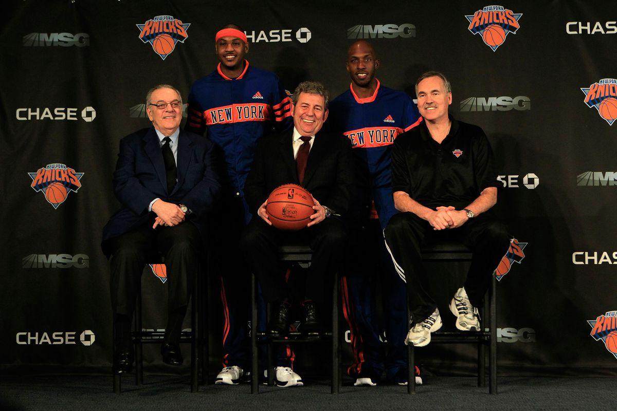 New York Knicks Introduce Carmelo Anthony