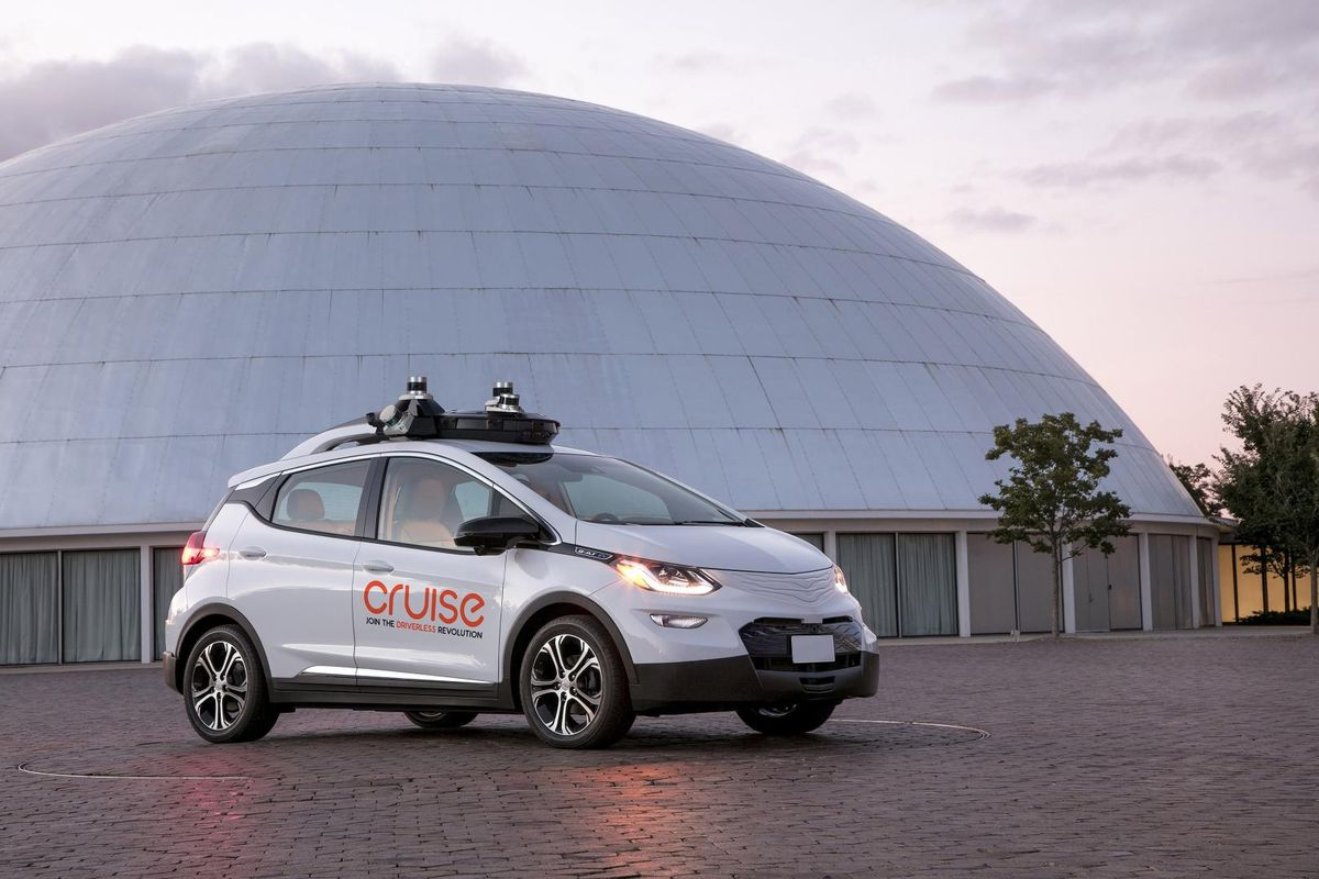 Doordash And General Motors Partner On Autonomous Food