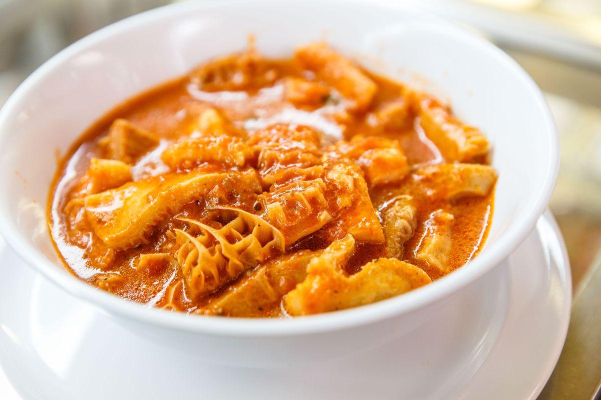 Tripe soup at Café al Mercato