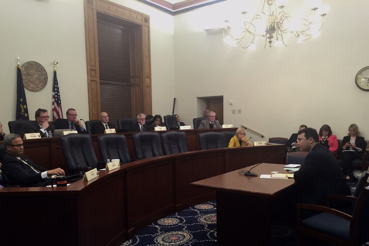 The Senate Rules Committee heard testimony from those supporting and opposing Senate Bill 1, which would remove State Superintendent Glenda Ritz as chairwoman of the Indiana State Board of Education.