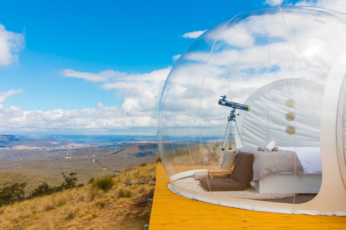 bubble tent for rent