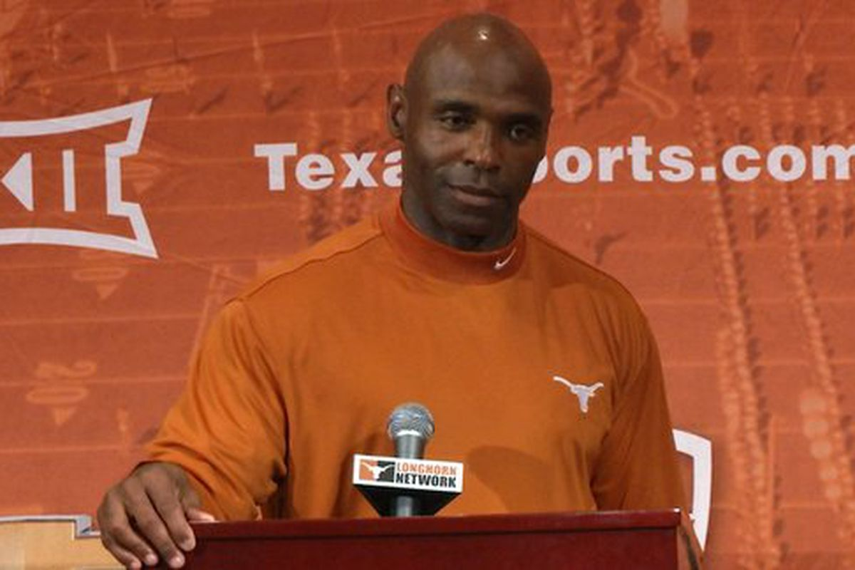 charlie strong spring game