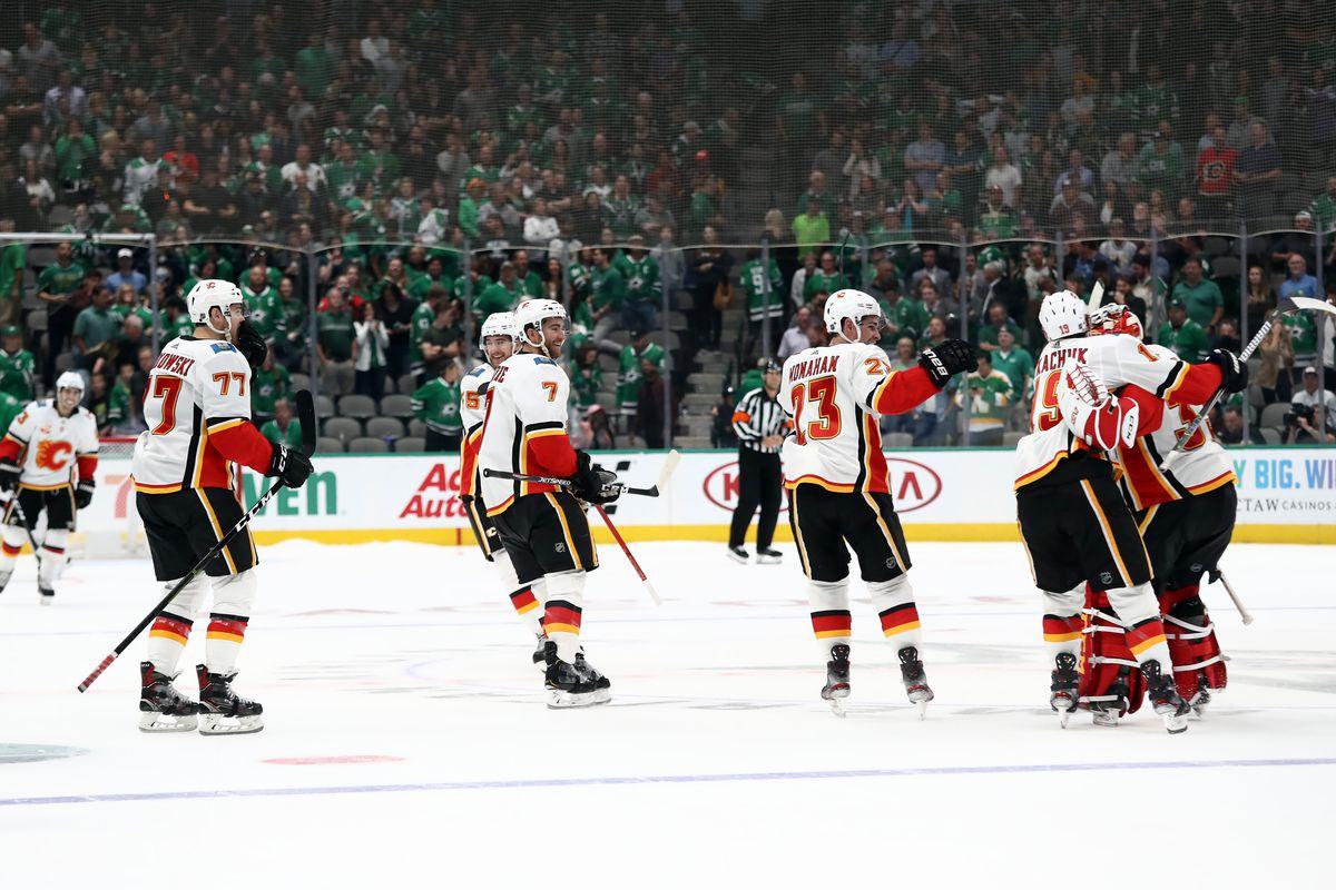 Calgary Flames v Dallas Stars