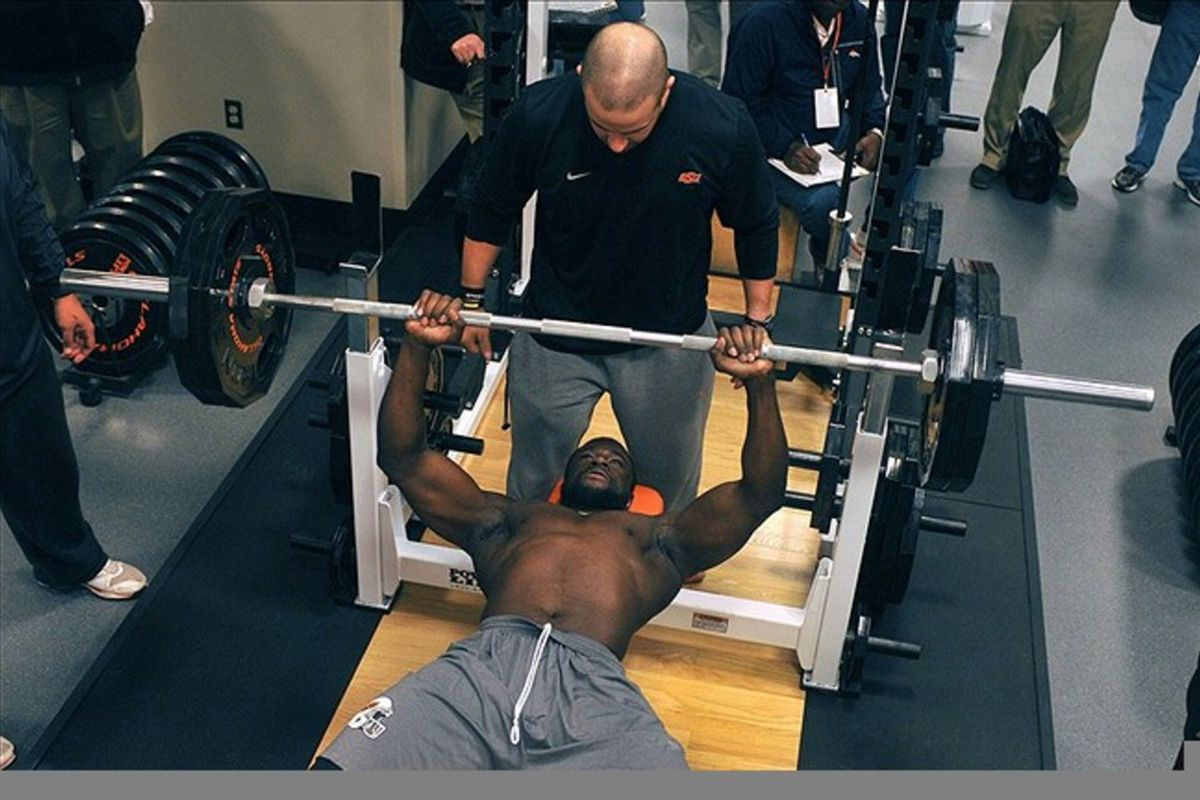 Nfl Combine Drills Explained Bench Press Big Cat Country