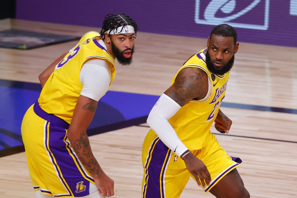 Nba Finals Three Takeaways From The Lakers Game 1 Win Over The Heat Silver Screen And Roll