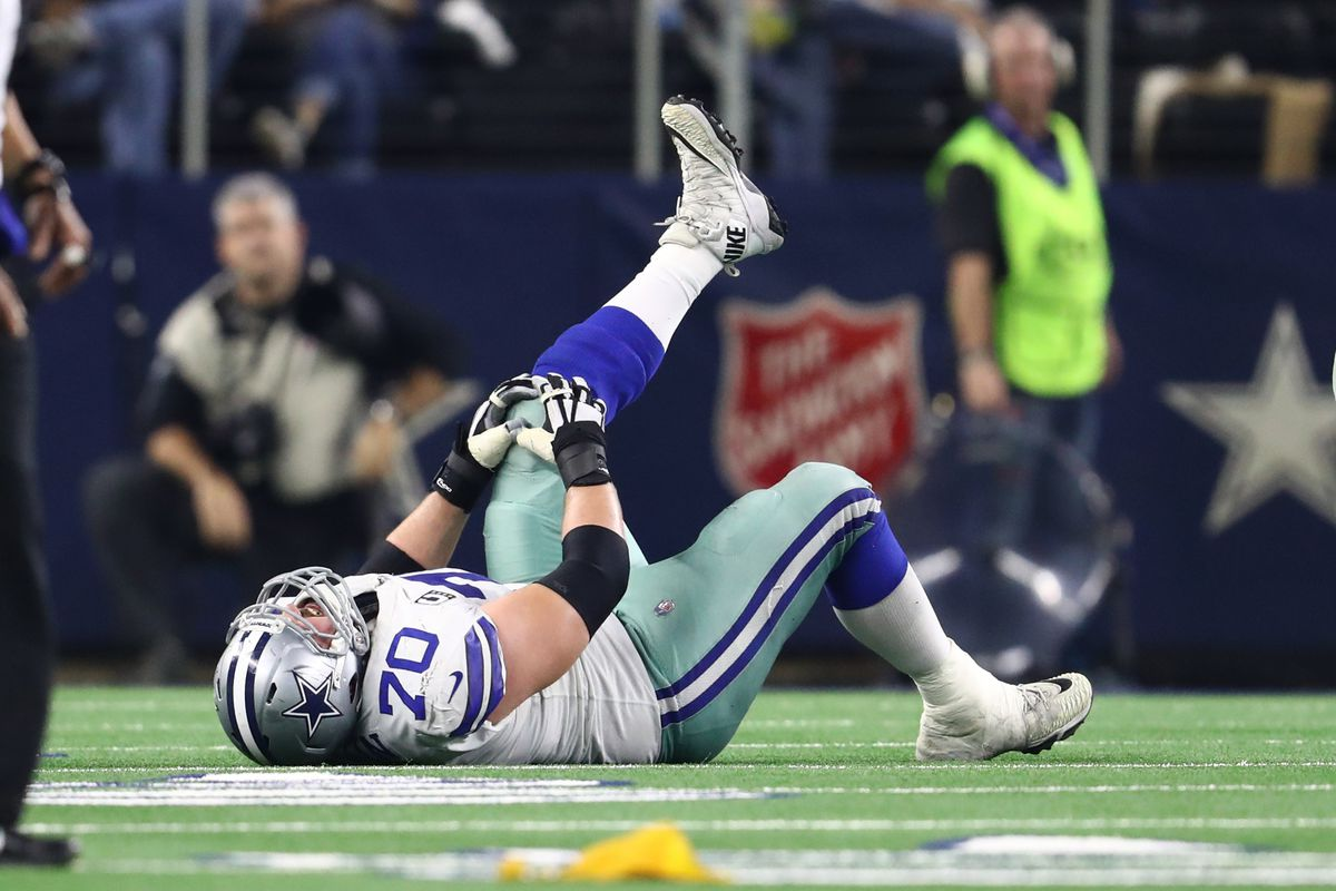 """Cowboys vs. Bucs injury report  Zack Martin was """"limited"""" in practice 98a2c353b"""
