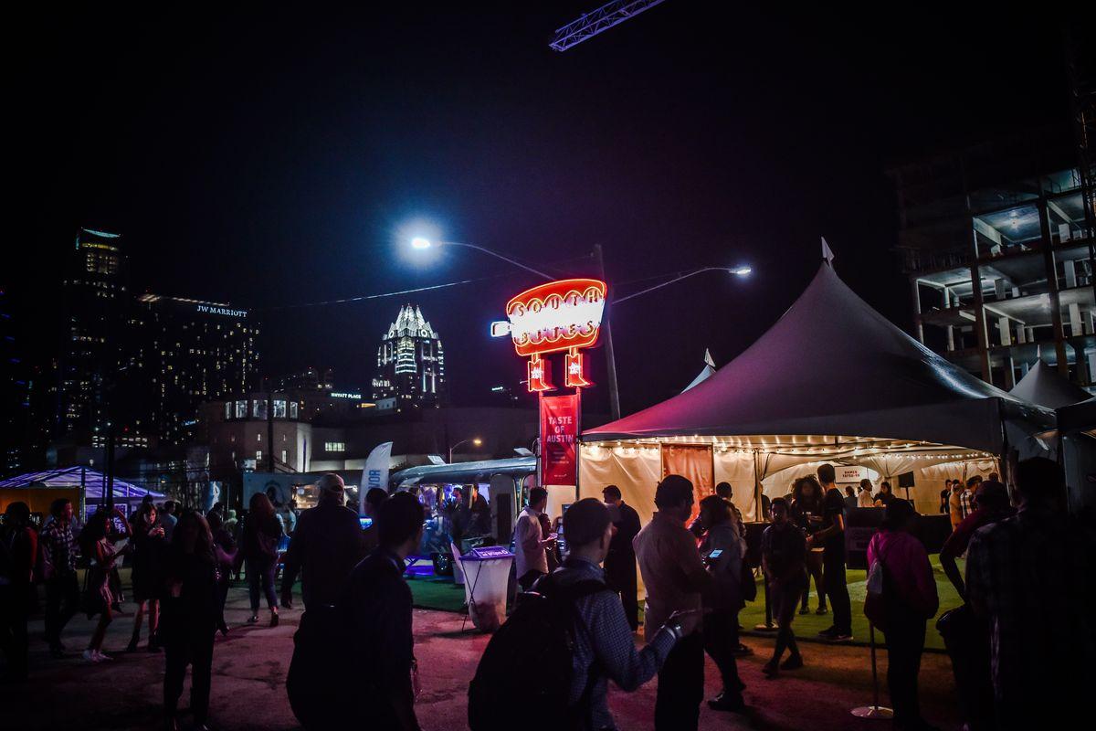 SXSW SouthBites Trailer Park in 2016