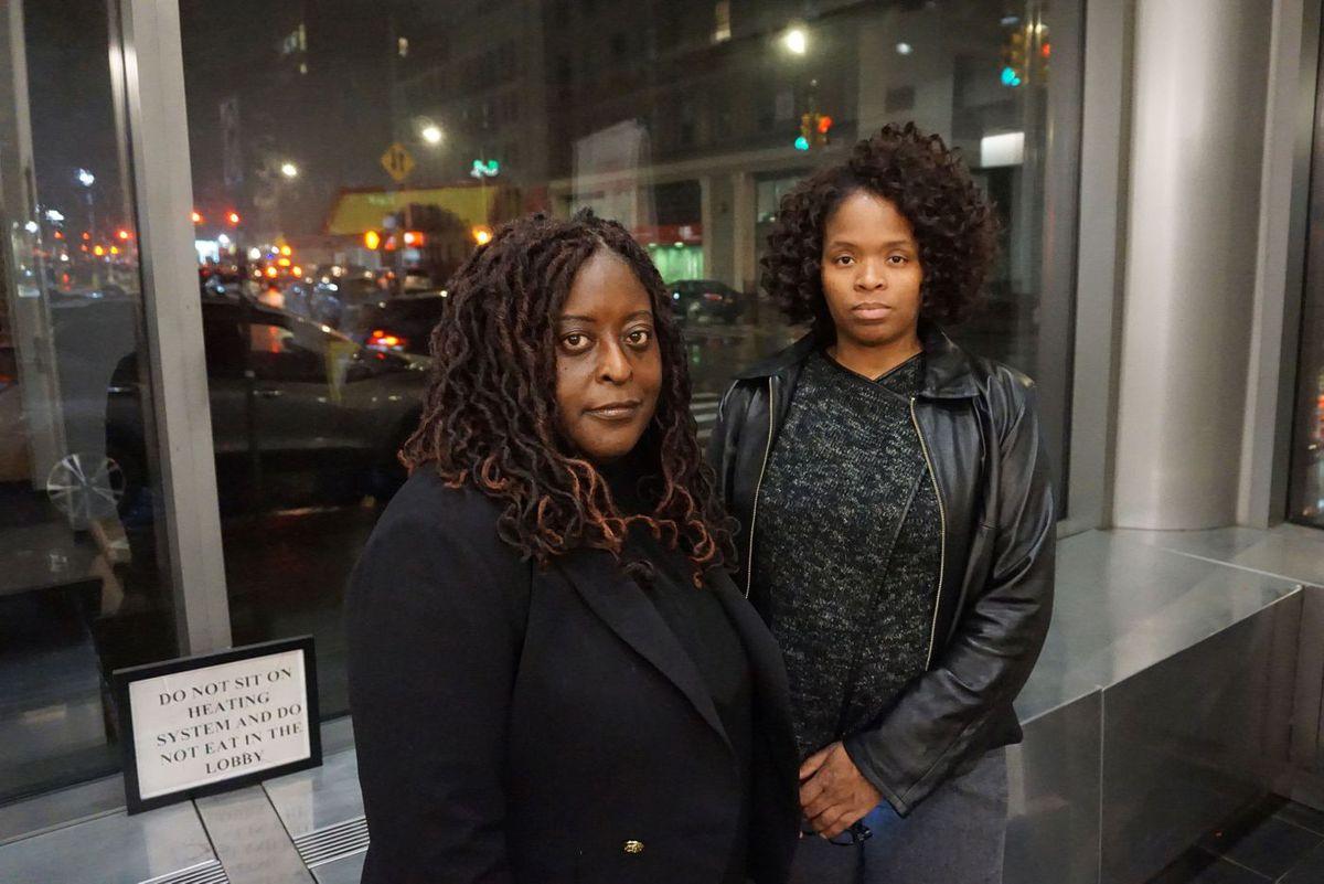 Tanya Bonner, left, and Ayisha Oglivie