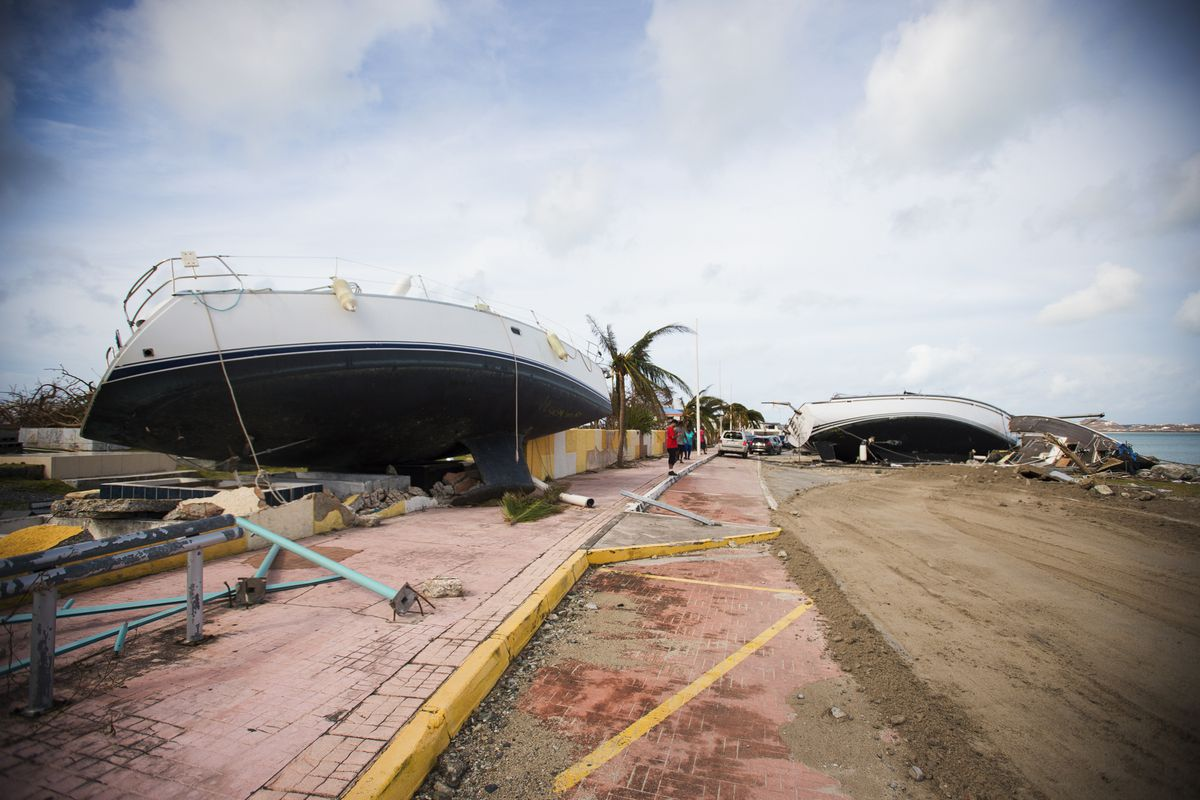 Photos: what Hurricane Irma's destruction in the Caribbean looks