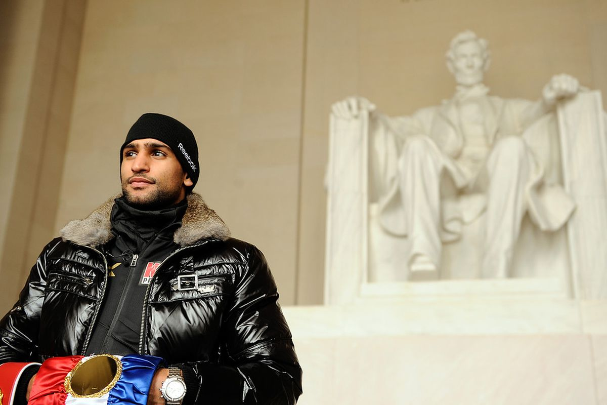Didn't get to see Honest Abe today.  (Photo by Patrick McDermott/Getty Images)