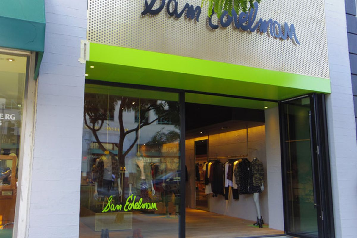 1a885e3b9 Sam Edelman s First West Coast Shop Opens in Beverly Hills - Racked LA