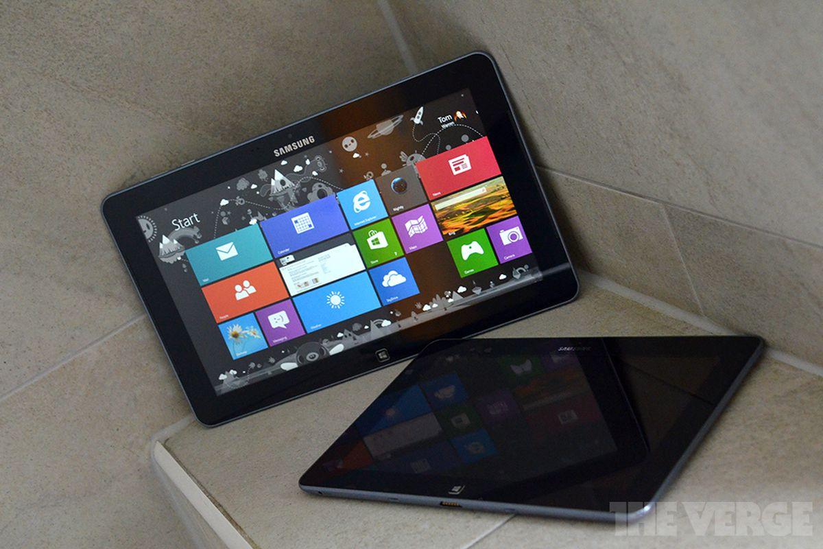 Samsung Windows tablets stock