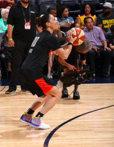 competitive price cfb5f ab34c WNBA All-Star 2018: Every fire pair of kicks from the game ...