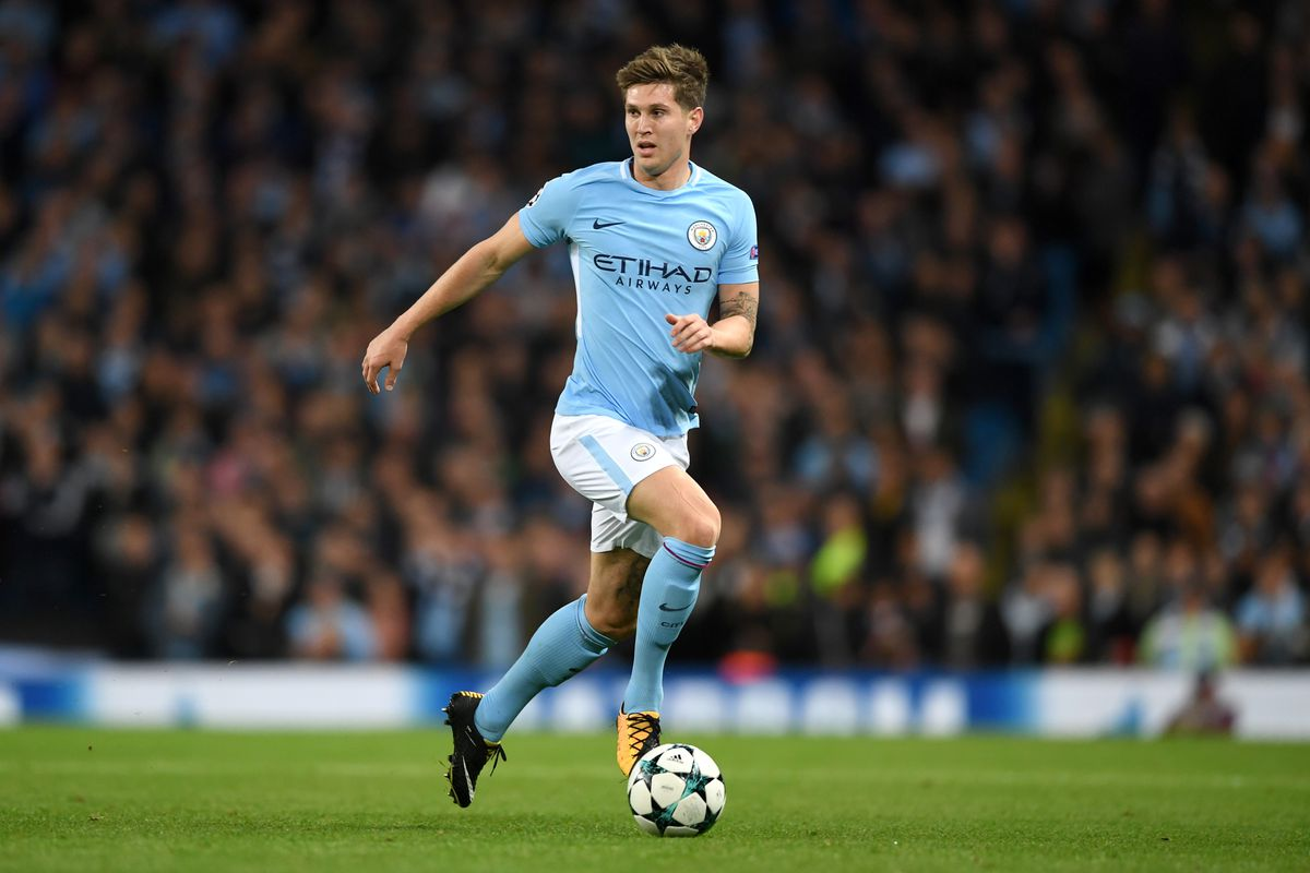 John Stones leaves match against Leicester with hamstring injury