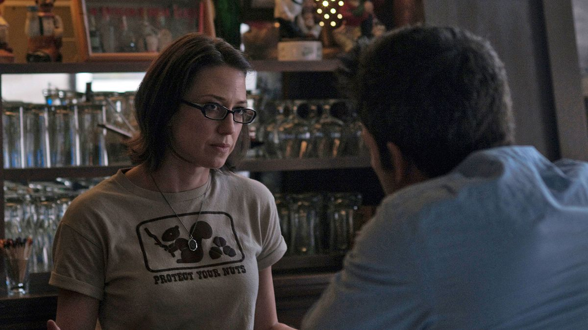 Carrie Coon in Gone Girl