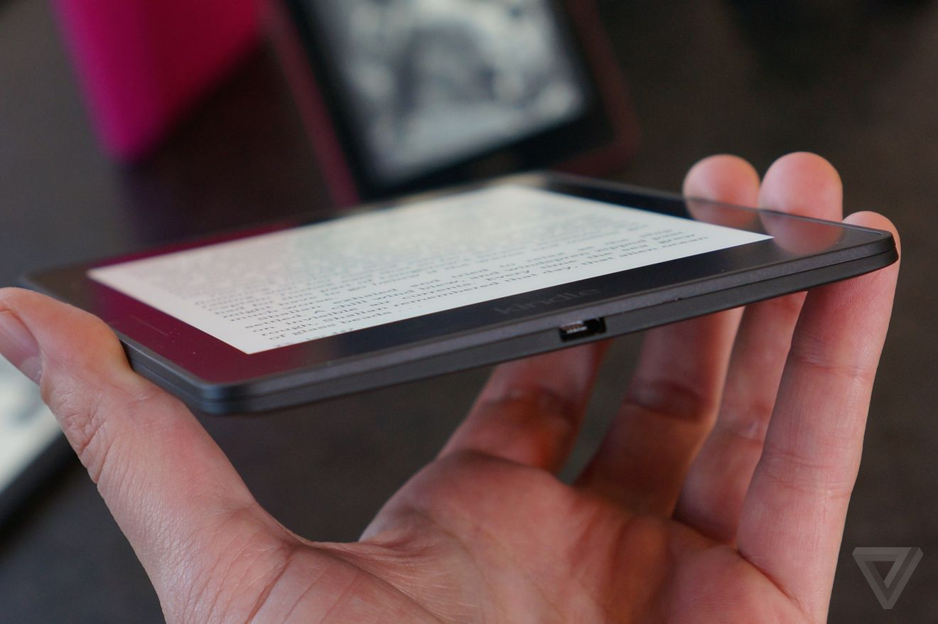 The new Kindle Voyage e-reader is shockingly good | The Verge
