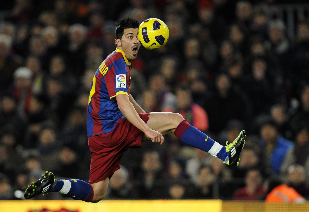 Barcelona v Racing Santander - La Liga