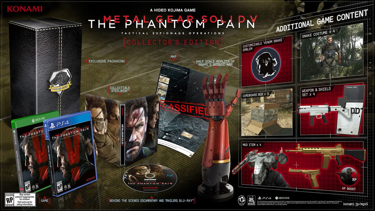Metal Gear Solid 5: The Phantom Pain Collector's Edition 1920