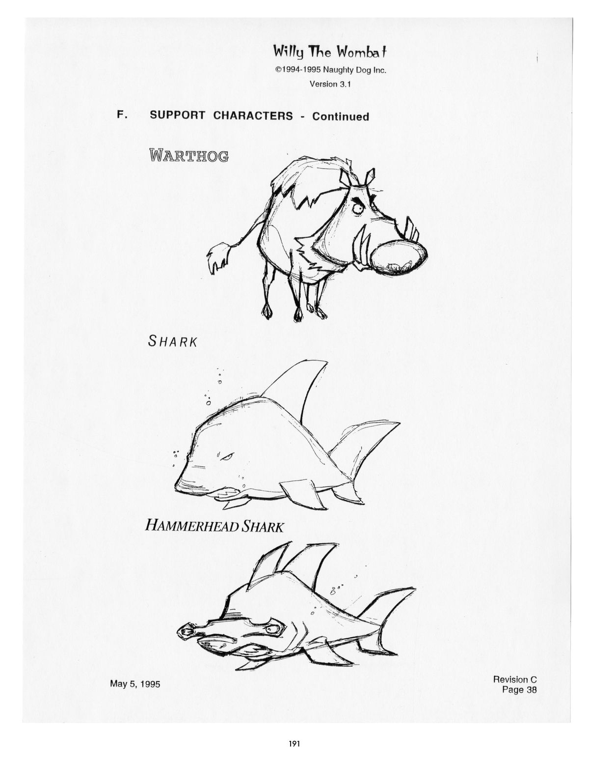 Pages from TheCrashBandicoot Files:How Willy the Wombat Sparked Marsupial Mania, Dark Horse Books.