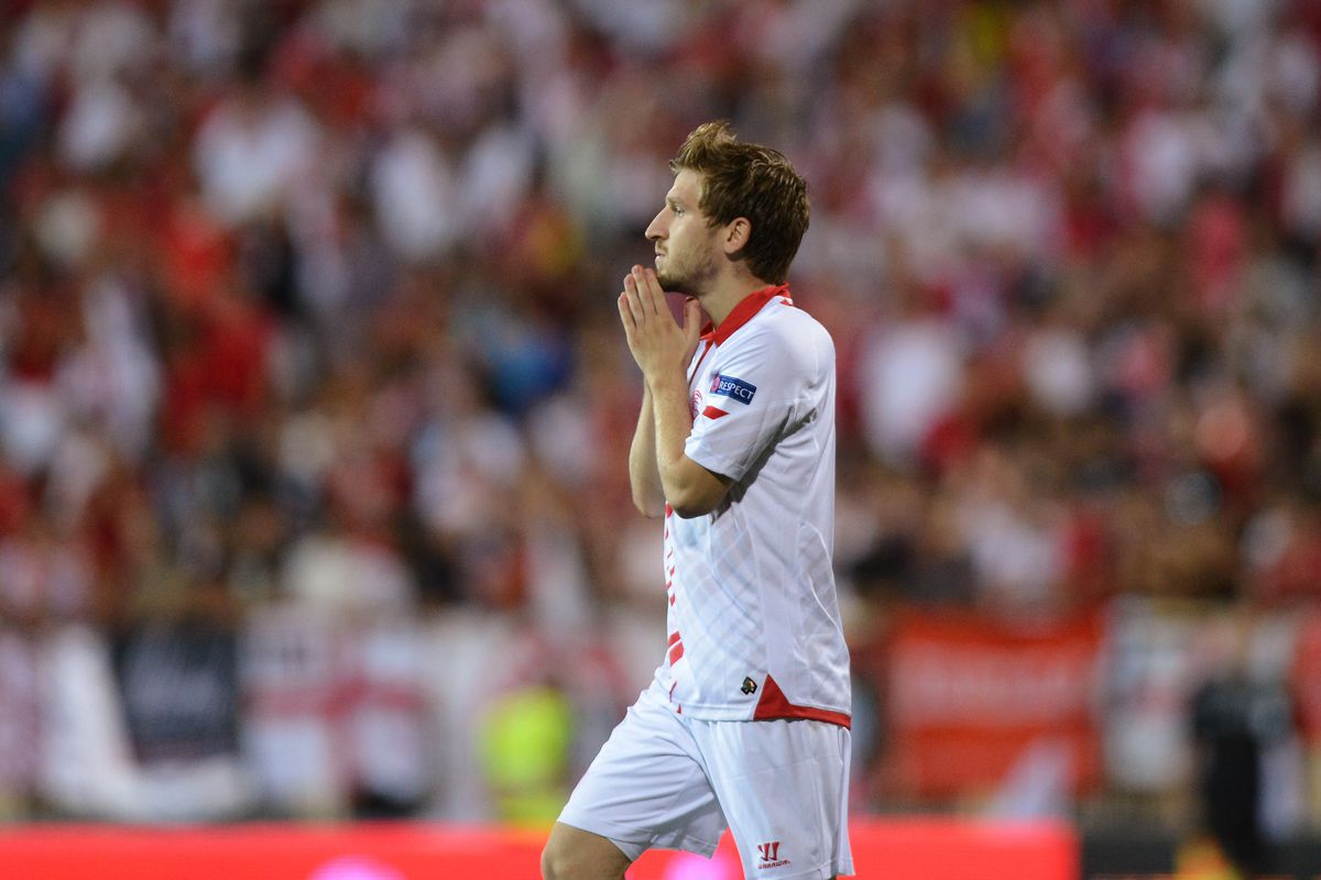 Marko Marin while on loan to Sevilla