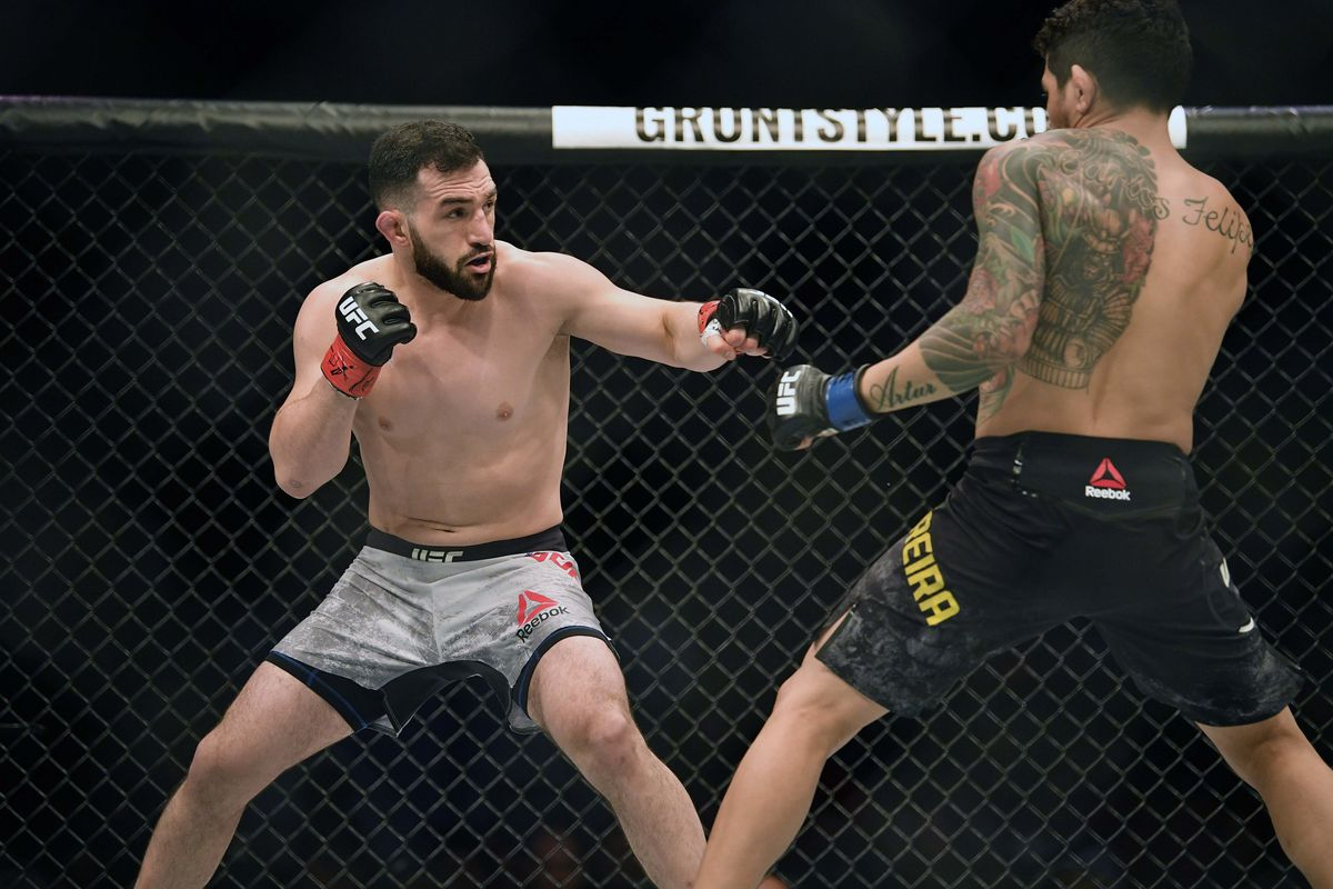 MMA: UFC Fight Night-Austin Gordon vs Ferreira