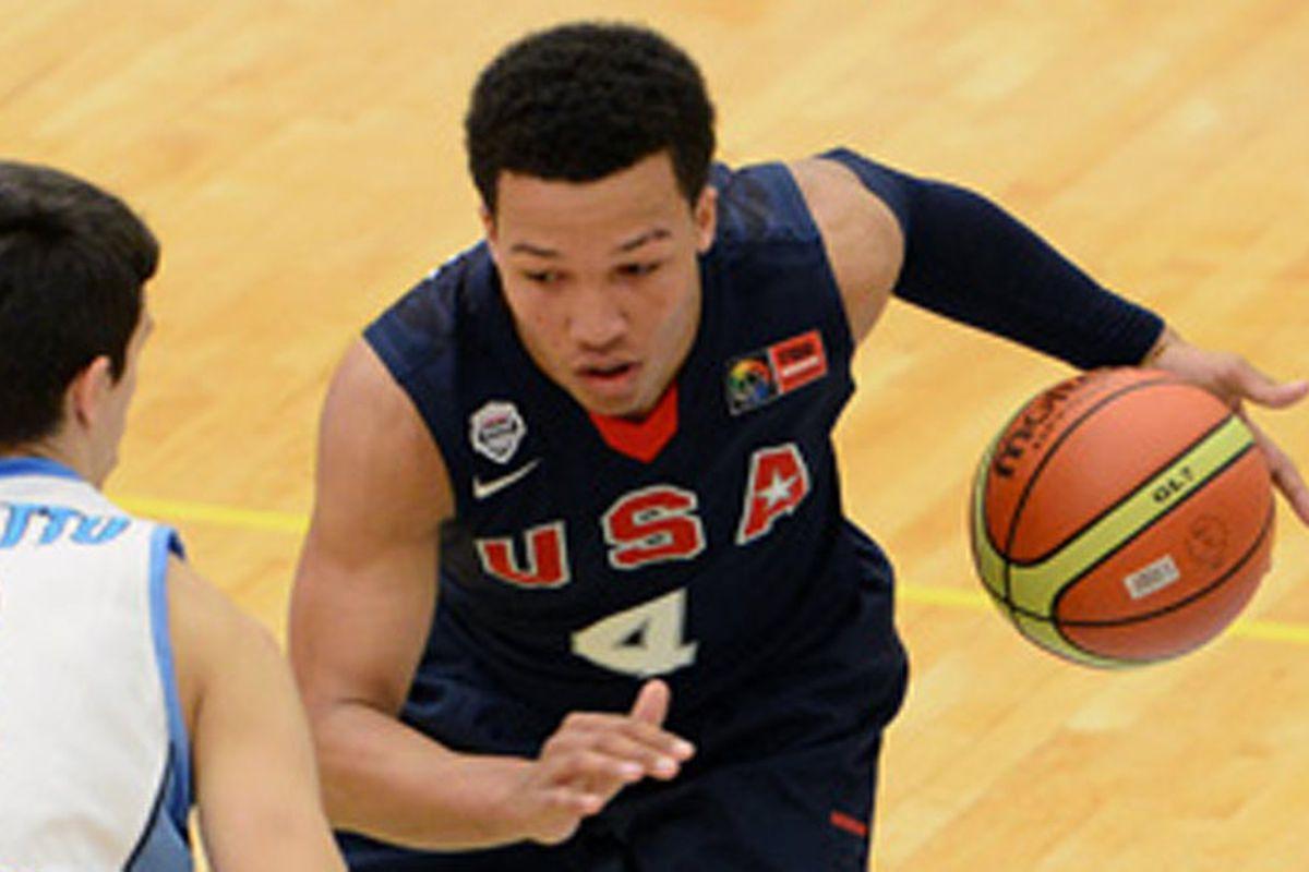 Brunson won gold at the 2014 FIBA Americas U18 Championship.