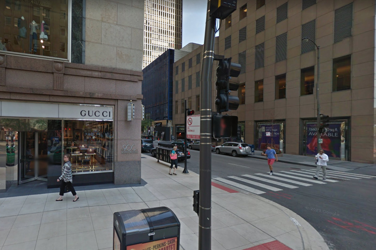 A Gucci store in the Gold Coast was robbed