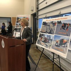 Salt Lake City Mayor Jackie Biskuspski released her annual budget proposal Monday, outlining how the city would spend an additional $25 million from the city's proposed 0.5 percent sales tax increase.