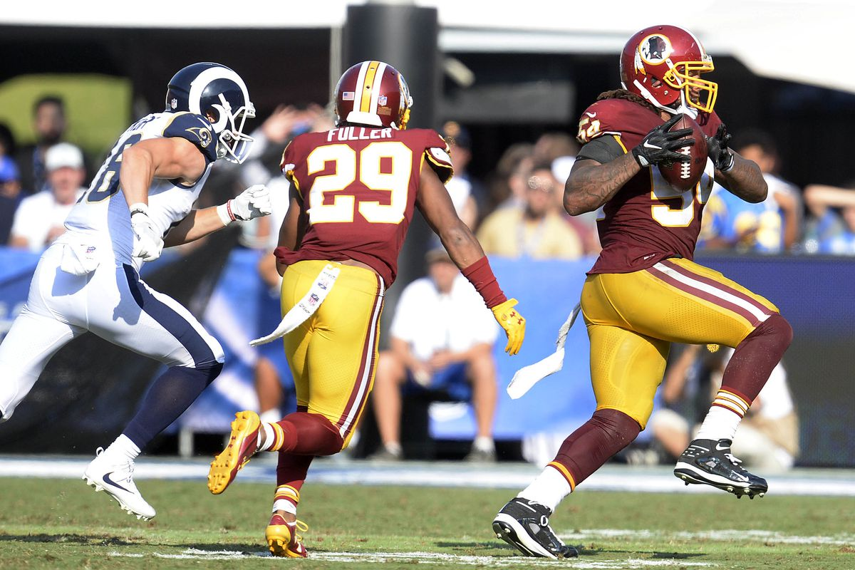 NFL: Washington Redskins at Los Angeles Rams