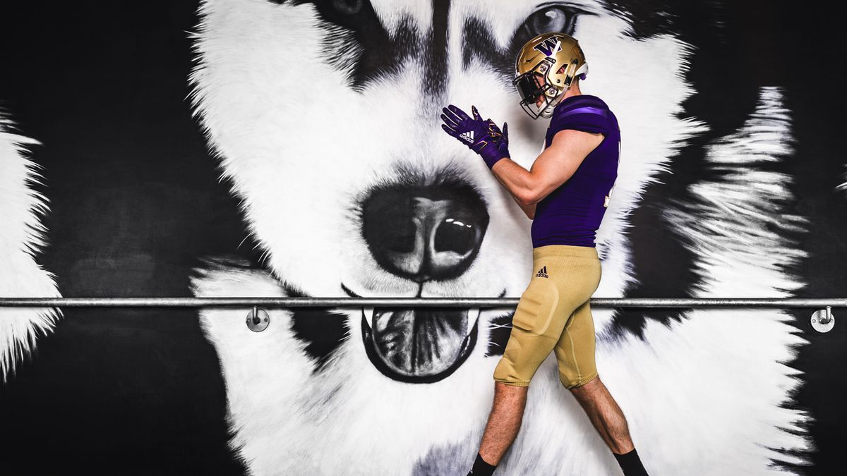 info for d81bb cb227 New adidas jerseys for the UW Huskies football team: see the ...