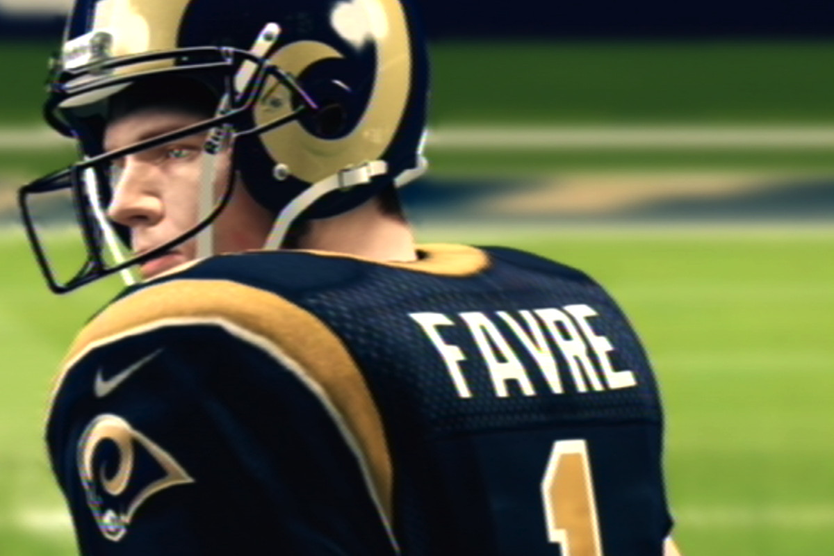 on sale b016c c462f Breaking Madden: Brett Favre returns to the Rams, and brings ...
