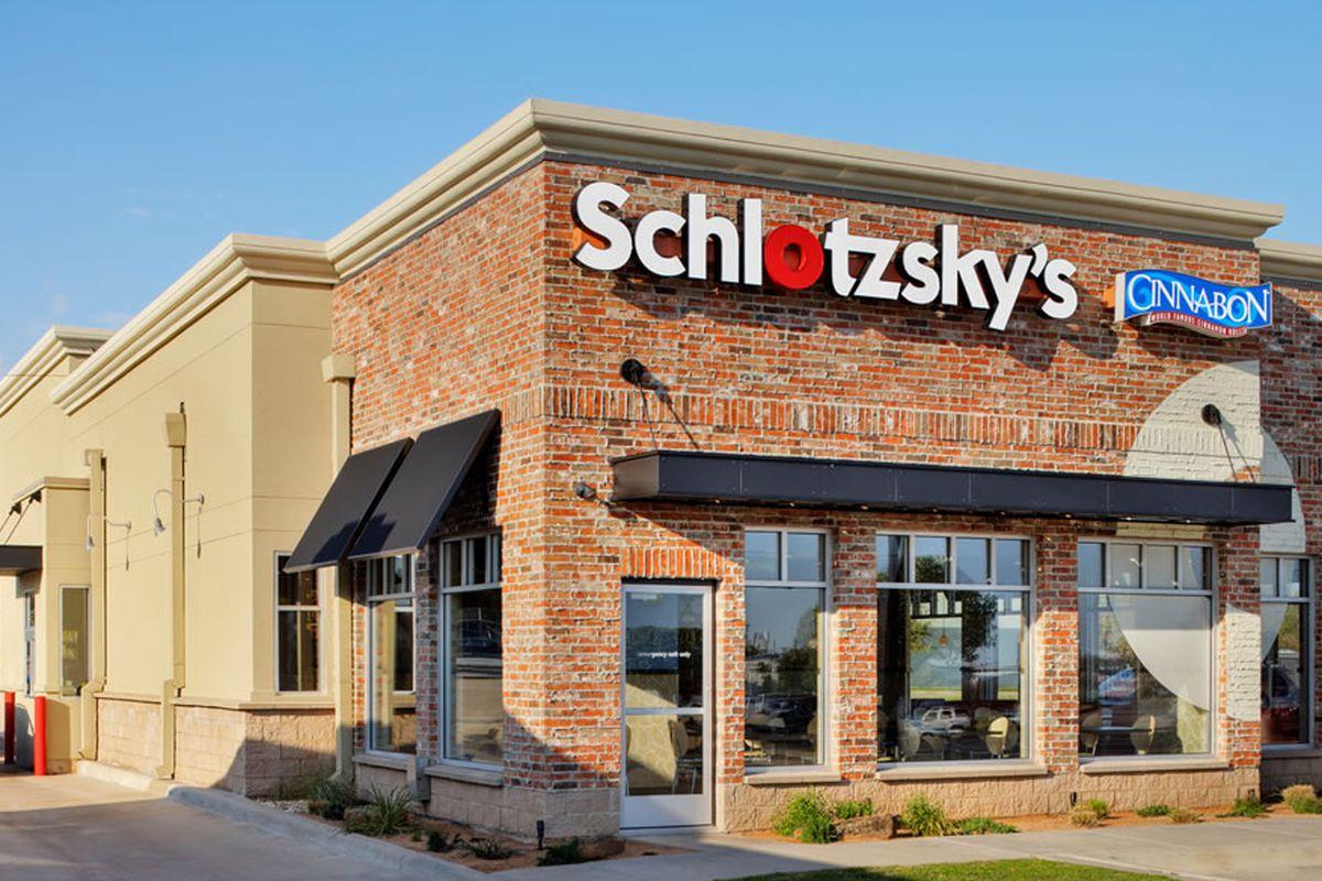 Schlotzsky's opens tomorrow.