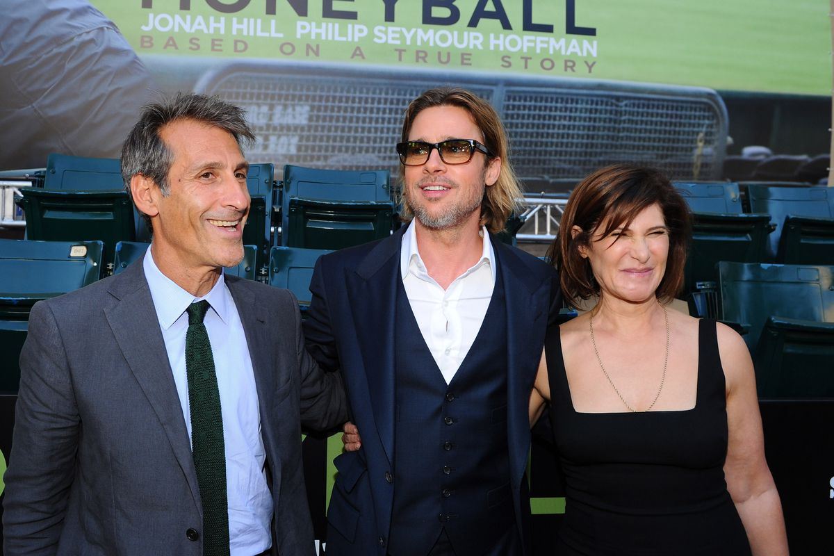 Premiere Of Columbia Pictures' 'Moneyball' - Red Carpet