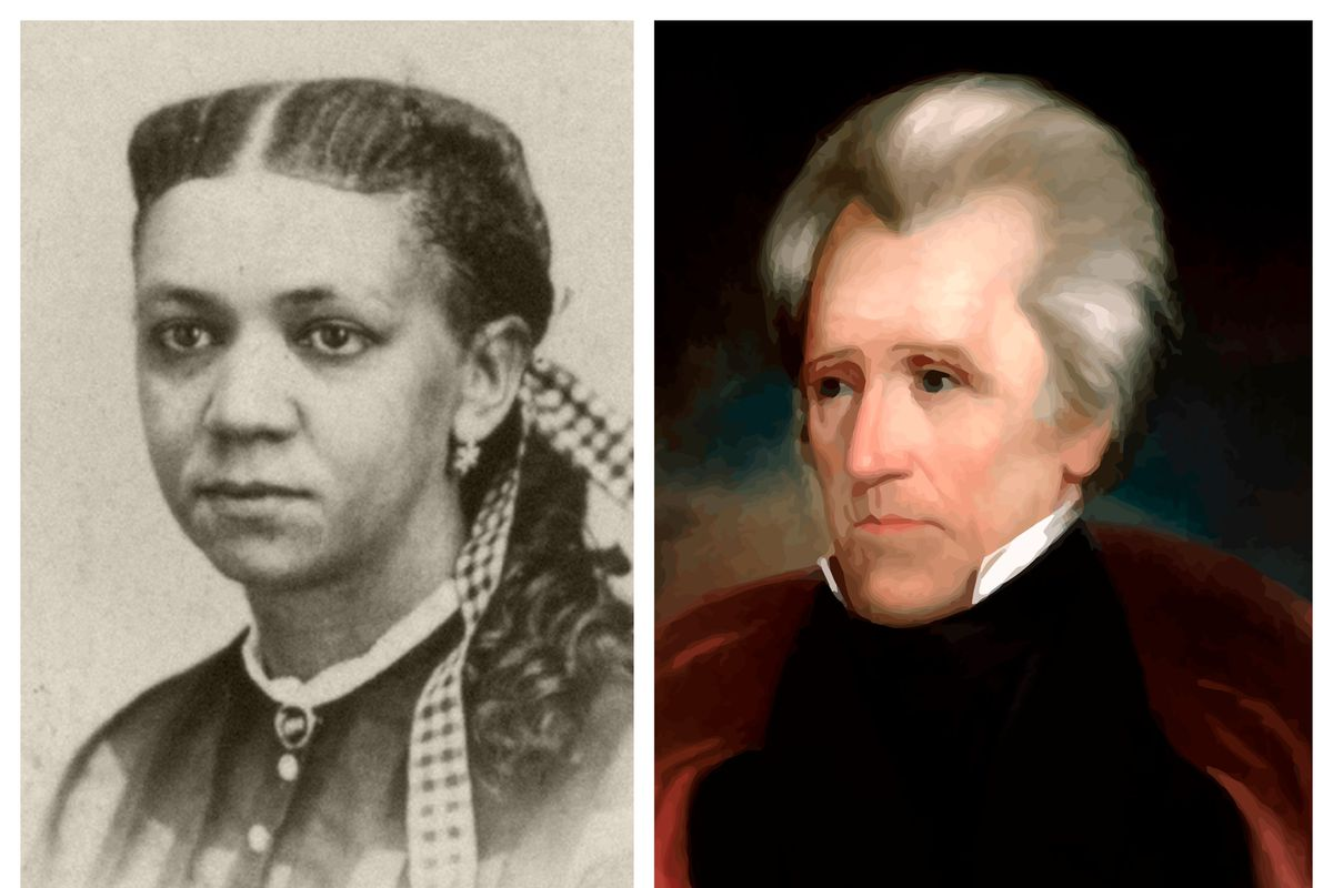 Fanny Jackson Coppin and former President Andrew Jackson