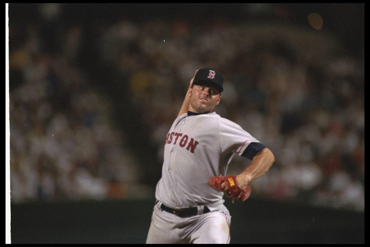 Baseball: Boston Red Sox Roger Clemens #