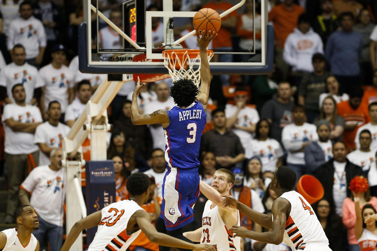 Raheem Appleby helped LA Tech take over first place in CUSA.