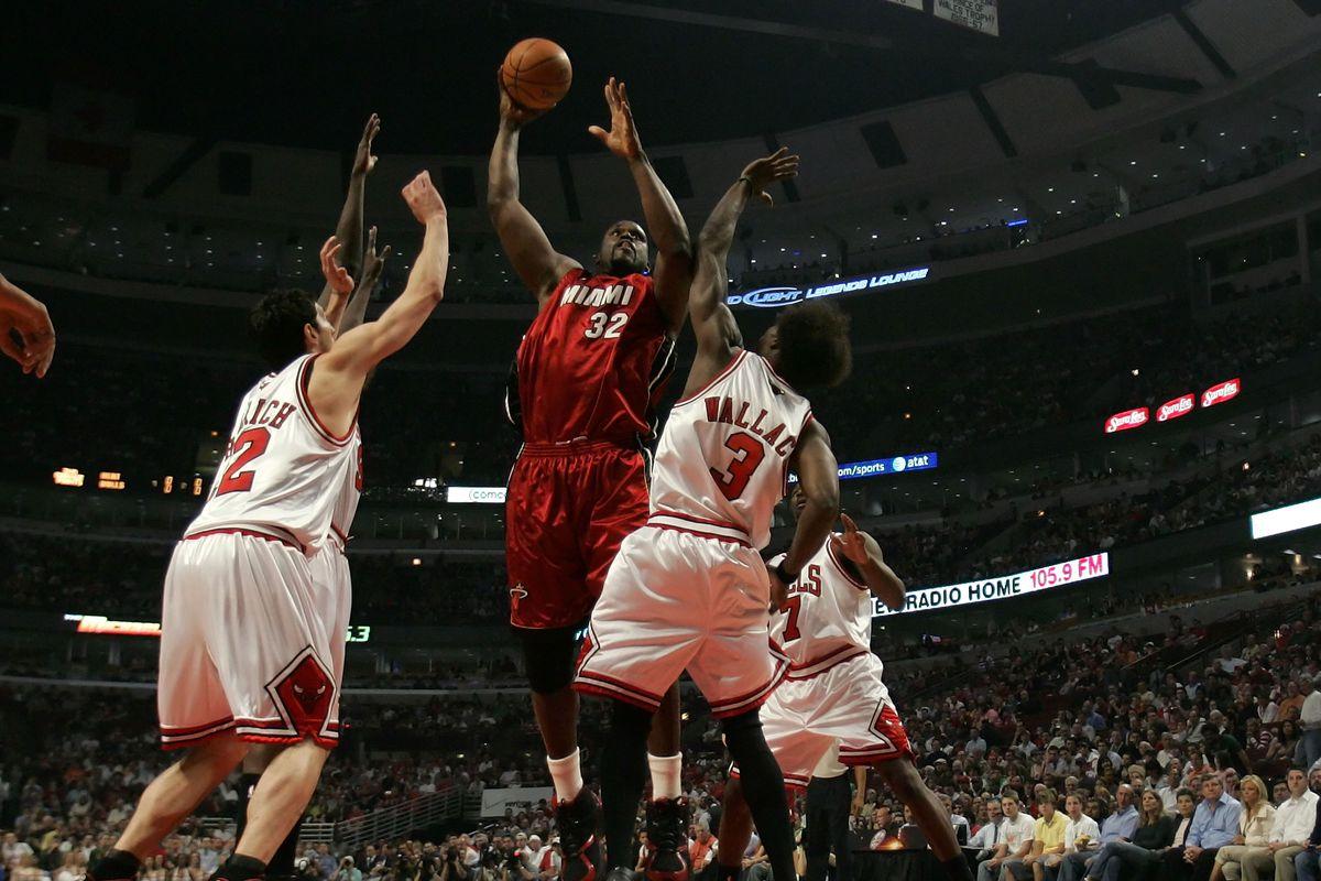 Miami Heat v Chicago Bulls, Game 1