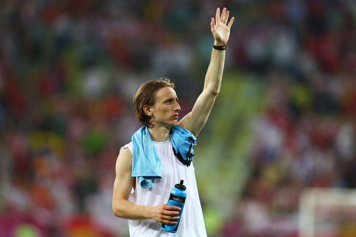 c74c4f310 Real Madrid Sign Luka Modric From Tottenham Hotspur - SBNation.com