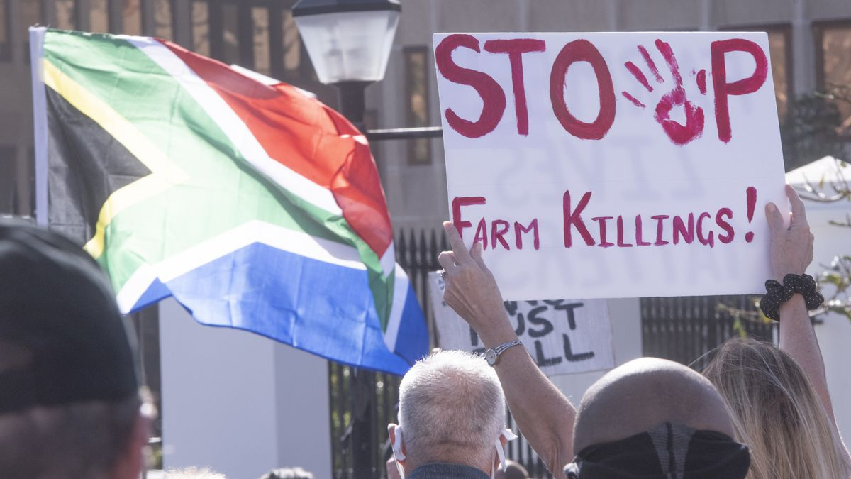 Movement heads to Parliament to protest against farm murders on Mandela Day in South Africa